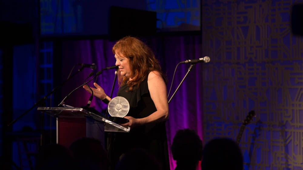 Sheri Jones received the Brian Chater Leadership Award.