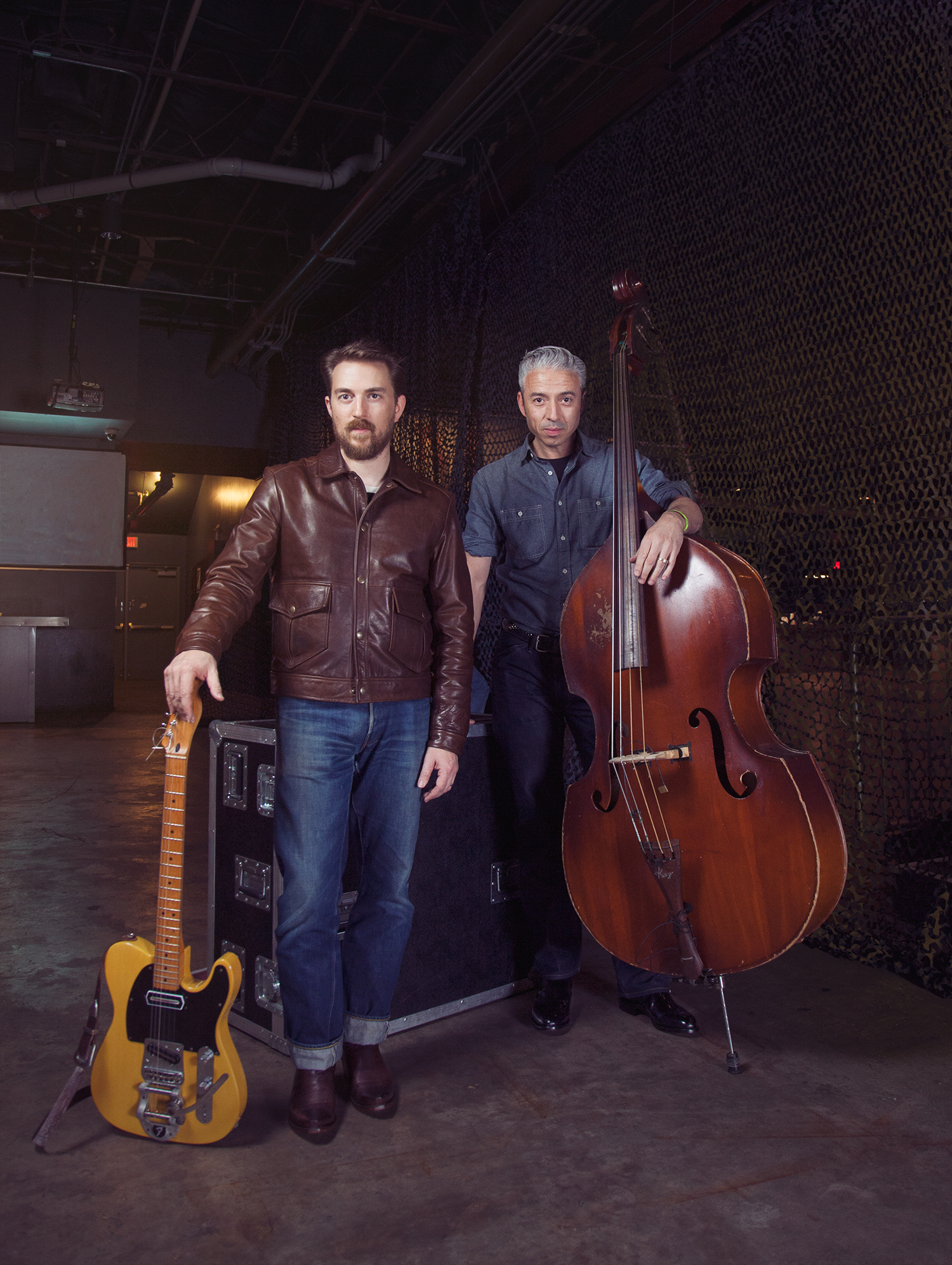 JD McPherson and Jimmy Sutton