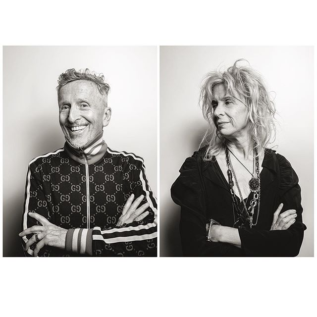 It was incredible getting to meet and photograph @simondoonan and @gailchovanatelier They are both so fascinating, inspiring and incredibly thoughtful about style and art. You can read their whole conversation in the September issue of @tribeza
