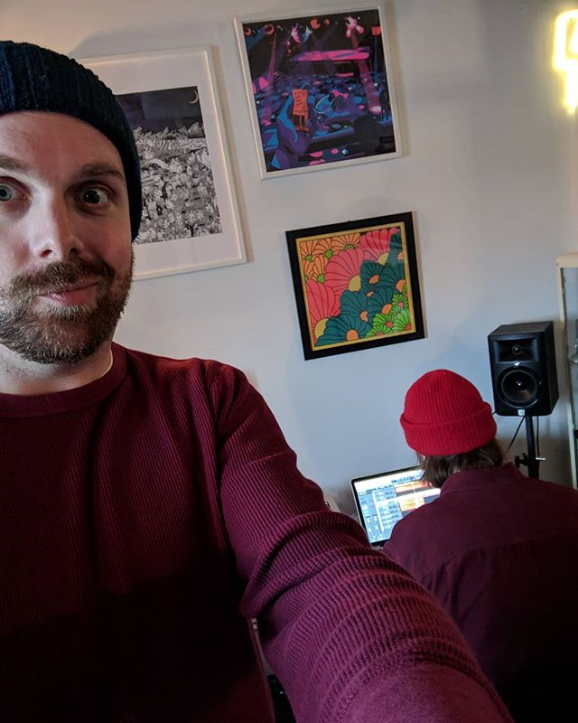 Only thing we couldn't agree on was beanie color... #fbf to hanging with @lt_wade during a drumming session 🥁 . . . #recordingstudio #producer #music #studio #studioflow #studiosession #workfame #studiolife #newmusic #drums #singer #songwriter #soundcloud #singersongwriter #wshh #musiclife #inthestudio #musicproduction #artist #musicproducer #musician #share #production #composer