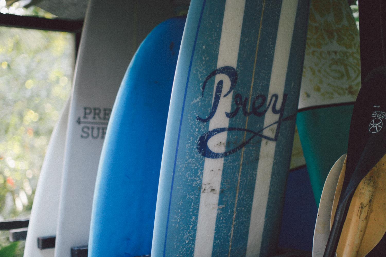 Surf Board Storage