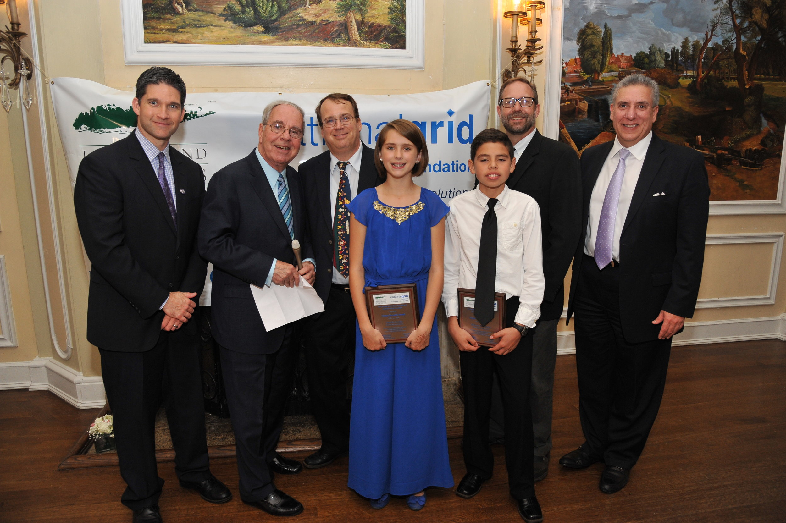 Winners are honored at the Society's Environmental Awards Gala at Oheka Castle.