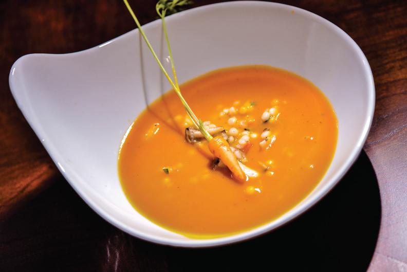 Braised Carrot + Cumin Soup