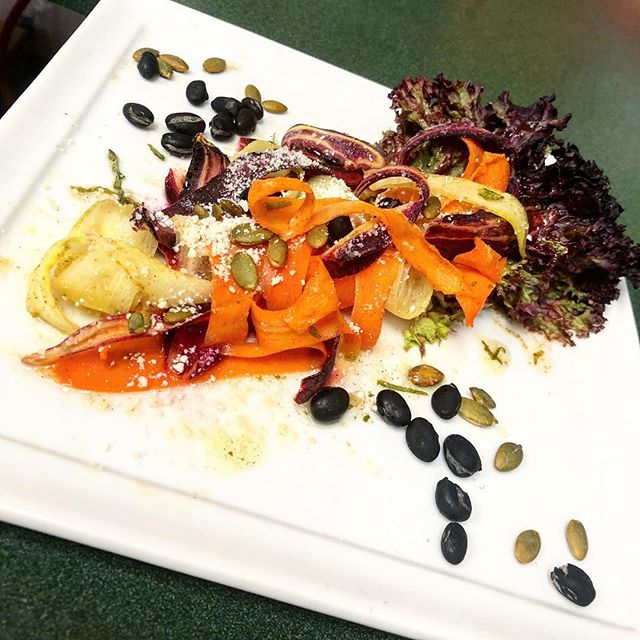 "#Chef says ""Eat your #sexy #veggies."" #vegetarian #vegan #healthy #vegetables #farmtotable"