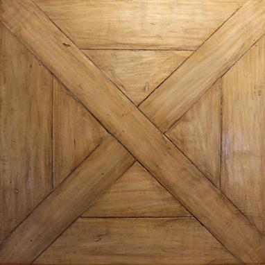 Hand-Crafted, Wax Poplar Parquet