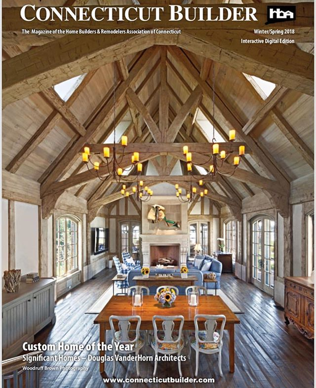 Thrilled to see our hand scraped, random plank, European White Oak floors featured in the Custom Home of the Year by Connecticut Builder. Built by @significanthomesllc and designed by @dvharchitects. Two of our favorite partners. ✨ #bespokefloorsandfinishes