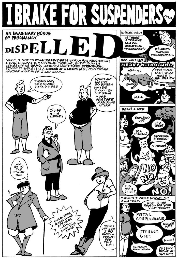 "Excerpt from AK Summers ""Pregnant Butch: Nine Long Months Spent in Drag,"" a graphic memoir"