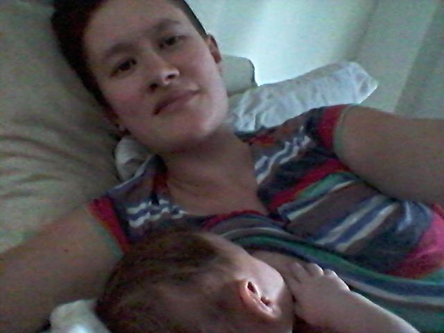 Nursing Baby Vee