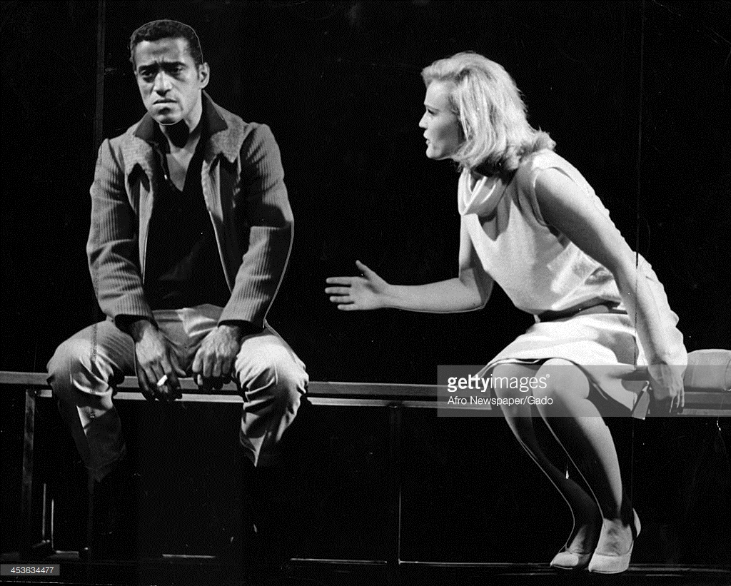 Sammy Davis Jr. with Paula Wayne in  Golden Boy (1964)
