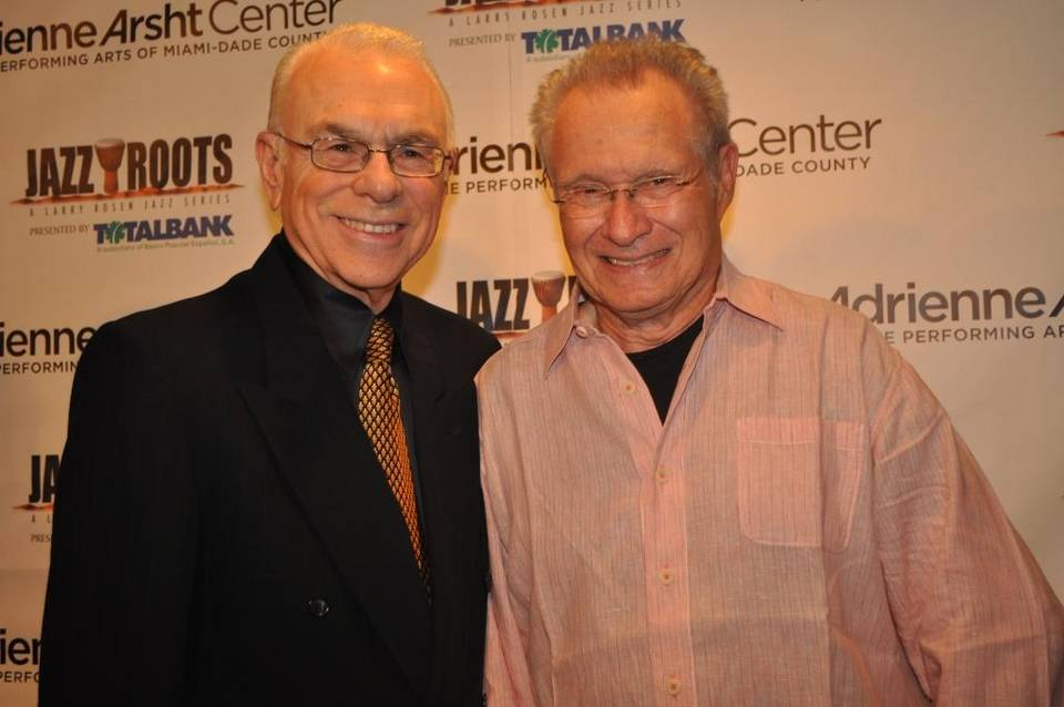 Larry Rosen (left) with Dave Grusin