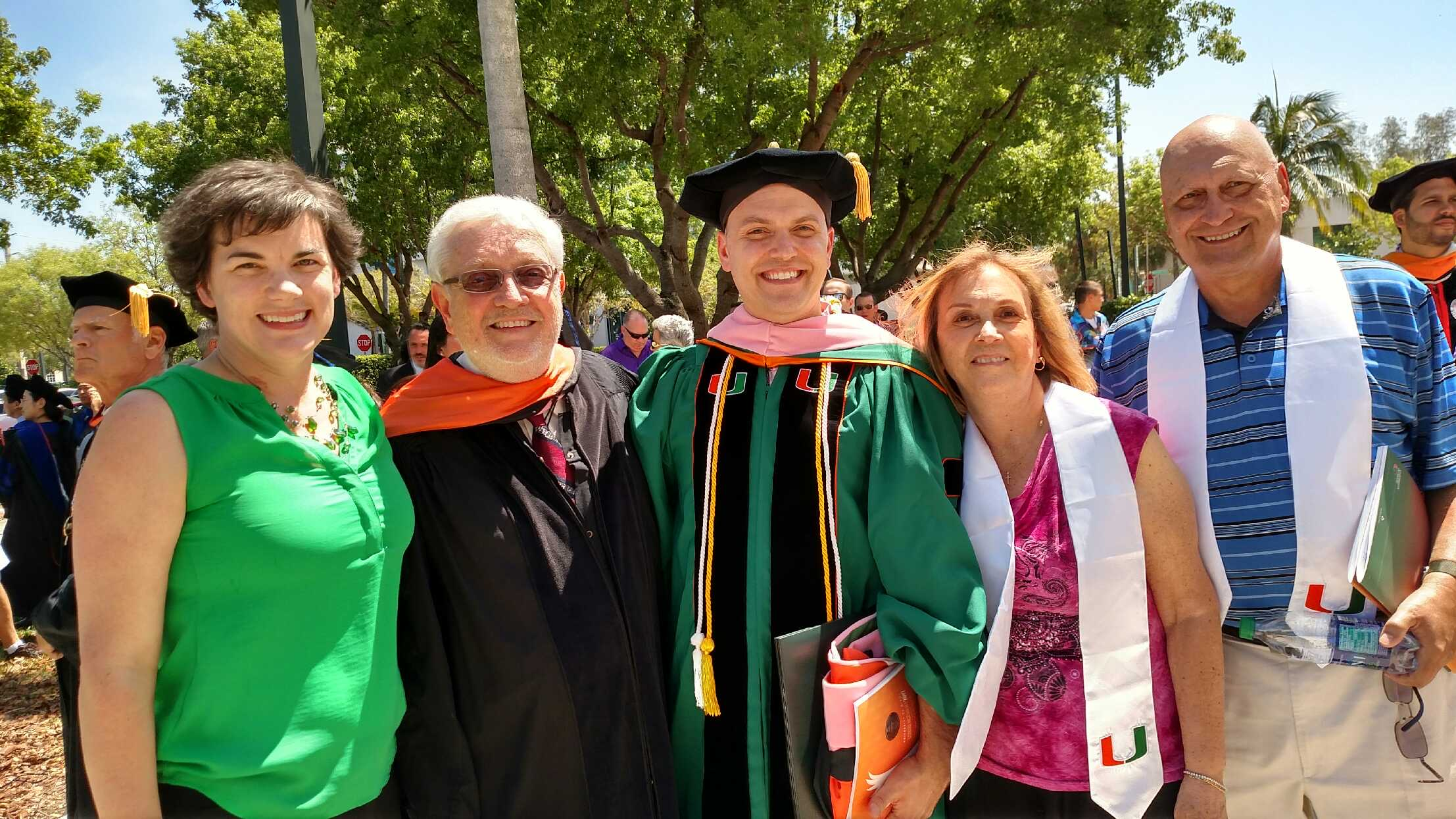 (Dr. Longo, Gary Lindsay, the new Dr. Longo, Georgie, & Bill)