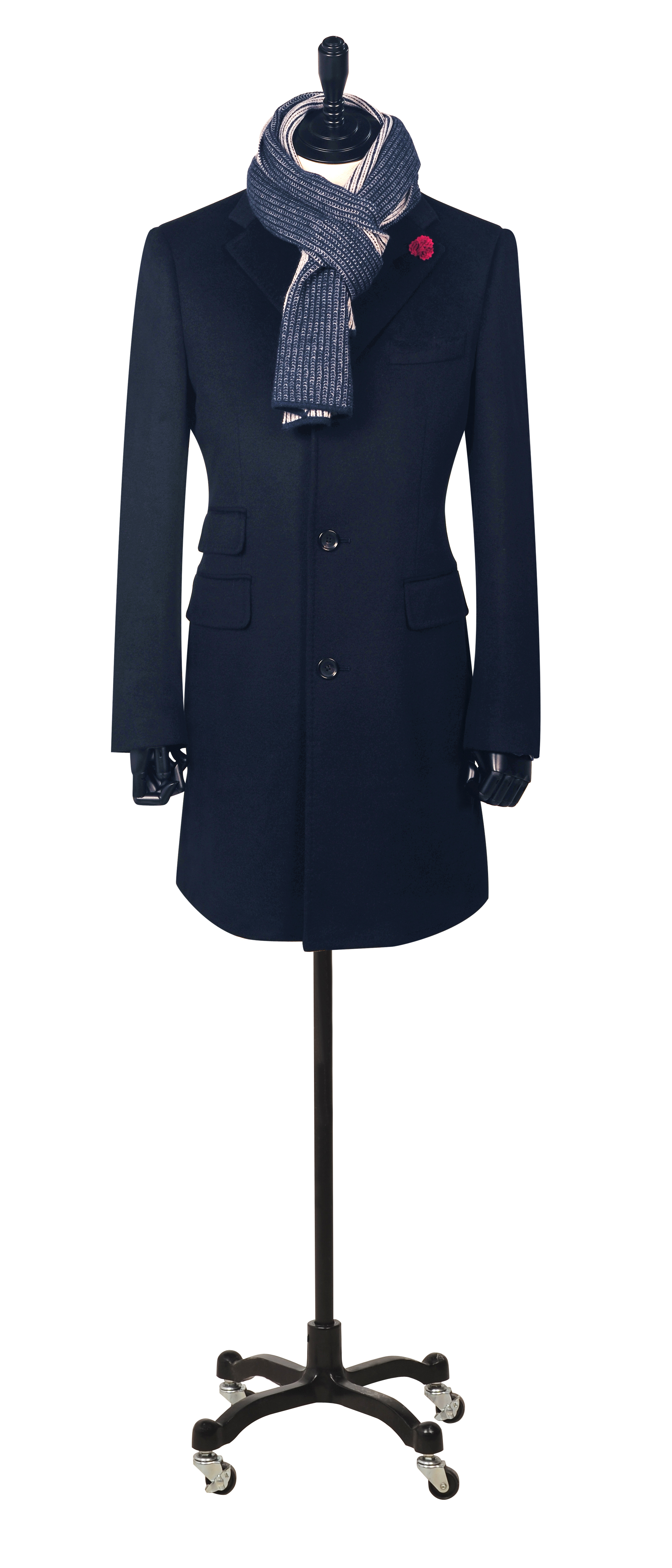 Navy Blue Cashmere
