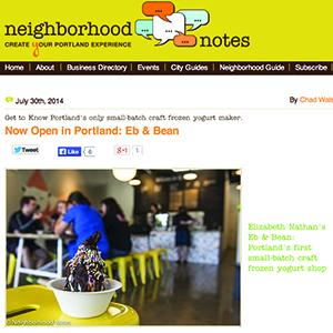 Neighborhood Notes   July 30, 2014