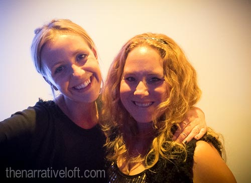 Rachel Taylor from The Narrative Loft and Sophie Spier from  Amazing Days Events  were all smiles!