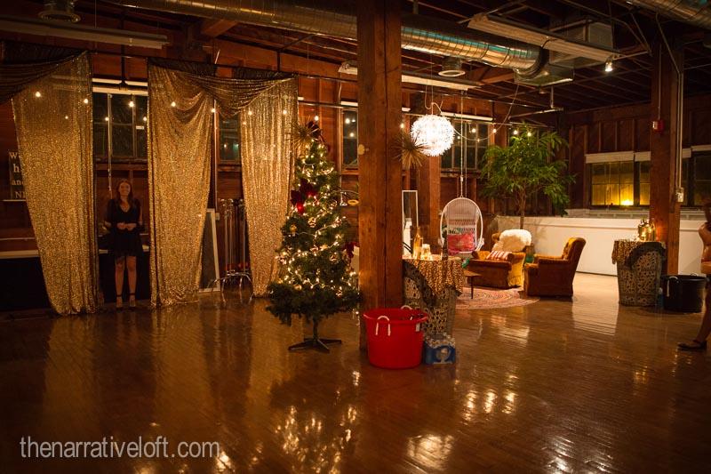EF International School holiday party lights christmas sparkle
