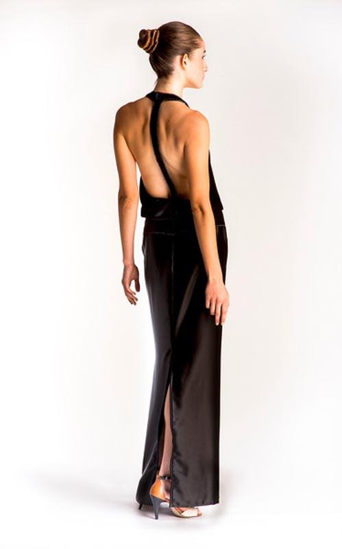 catherinegee lookbook photoshoot fashion model evening dress little black dresss