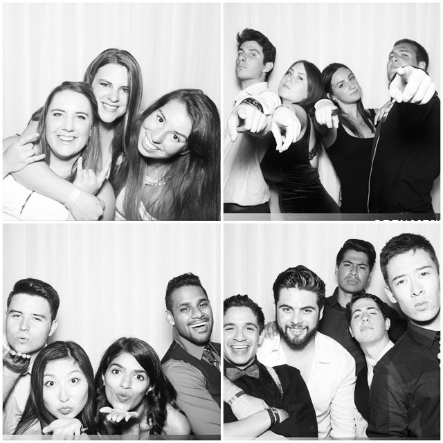 Amazing photos from the photobooth!!