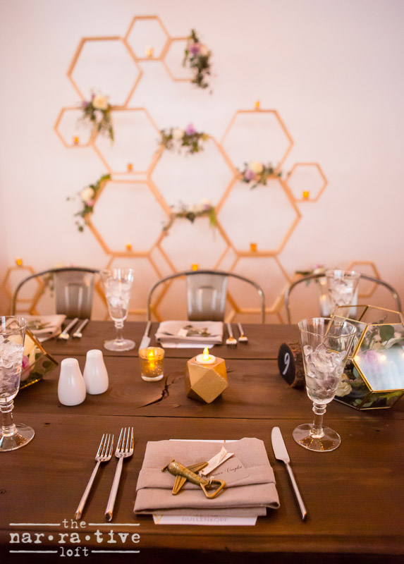 Ahhh! We're in love with this hexagon piece from Cargo Creative!