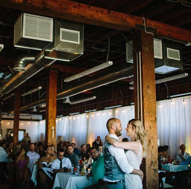 ©Hanna Photography - John and Allison sharing a tender moment together, captured during their first dance as newlyweds.