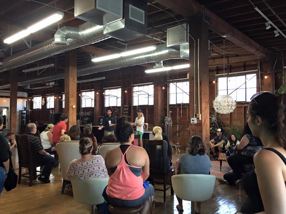 Orientation last week at The Narrative Loft!