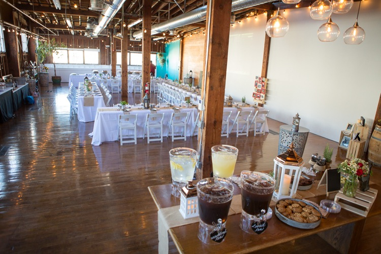 The perfect setup for an intimate gathering.