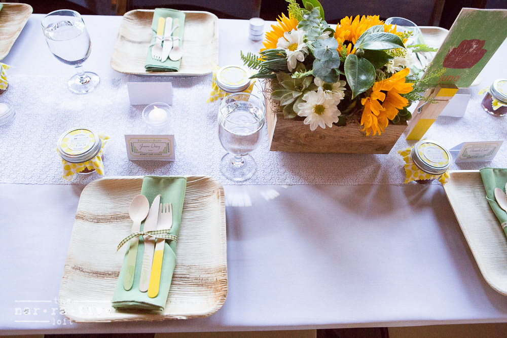 Loving everything about this table scape!