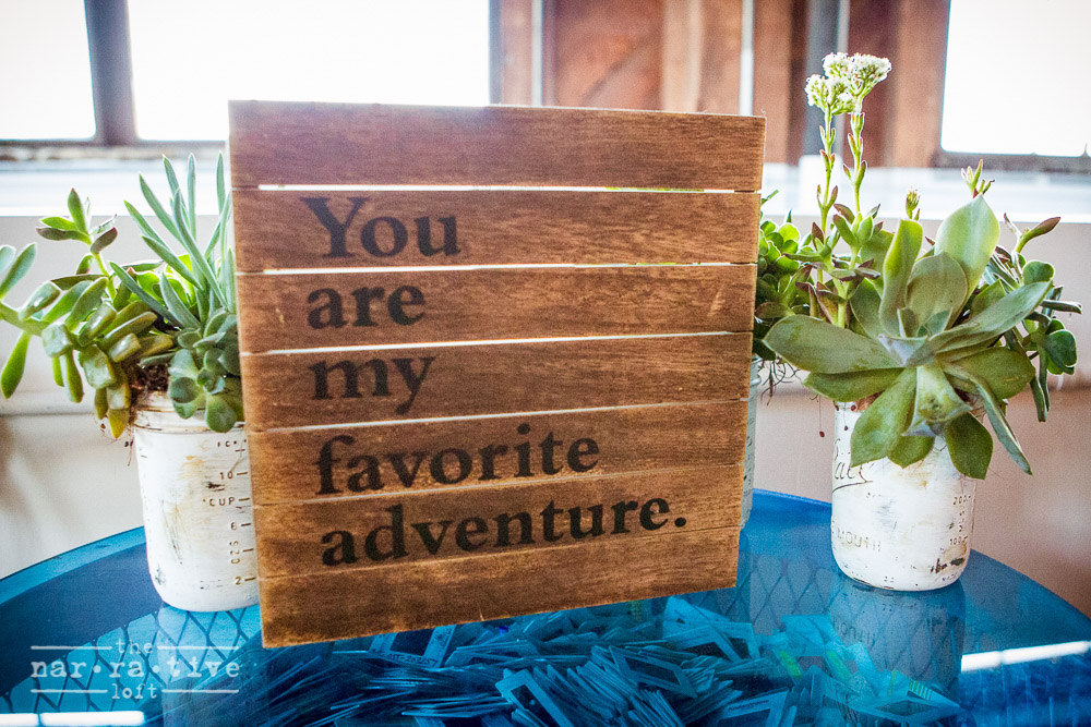 Nothing is a better adventure than being with the one you love, forever!