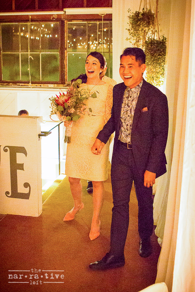 Say hello to the new Mr. and Mrs.!