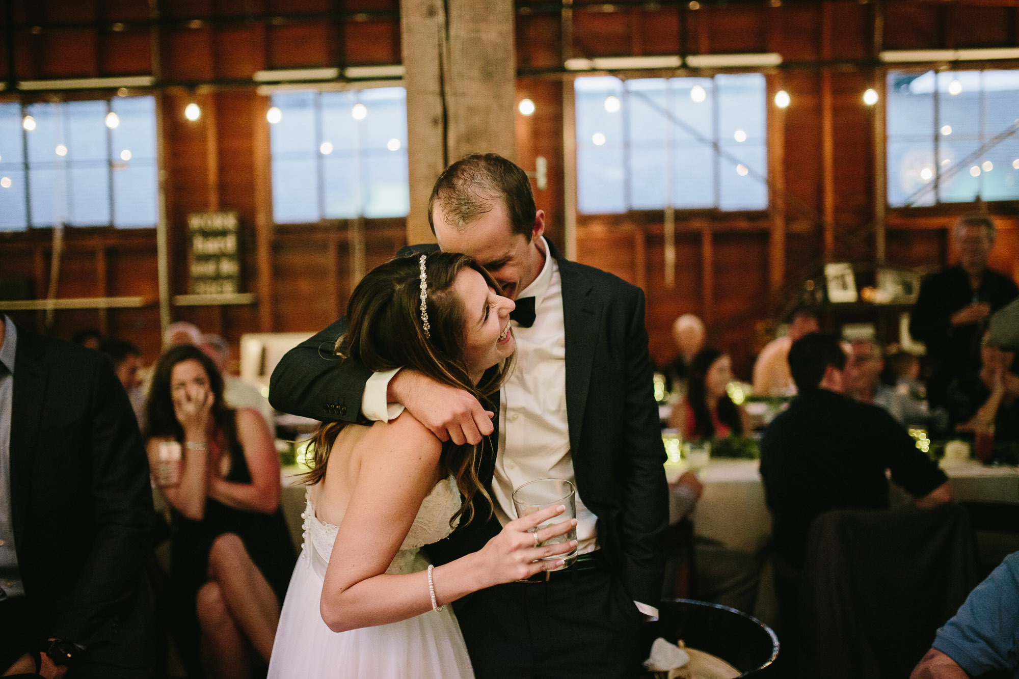 An adorable moment of the sweethearts by Kinsey Mhire Photography.