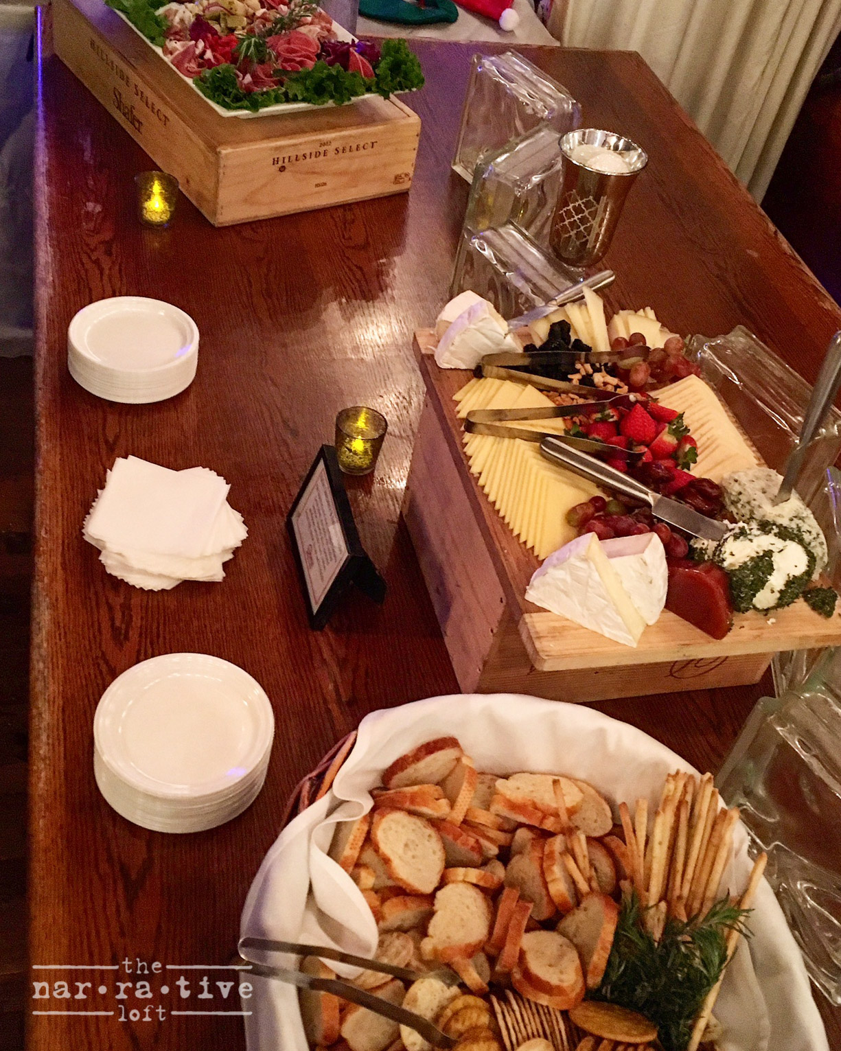 The perfect holiday spread from  Omni Catering , yummy!