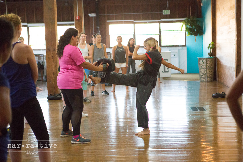 Teri Jory showing off her moves!