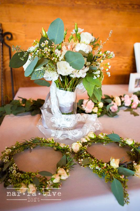Sweet floral details!