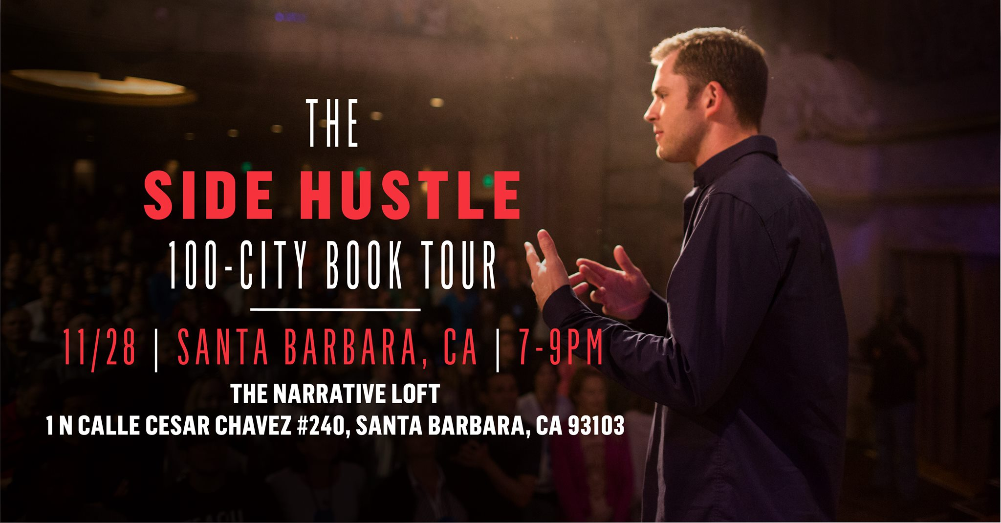 Side Hustle Book Tour