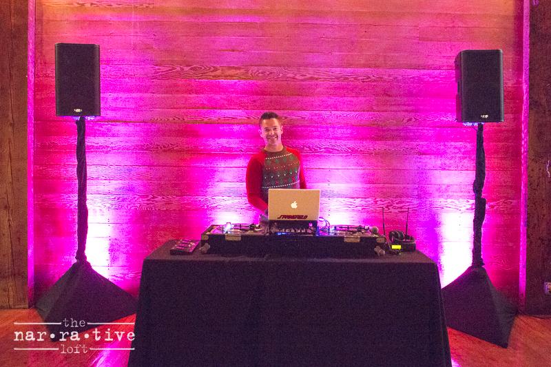 DJ Spencer makin' the music!