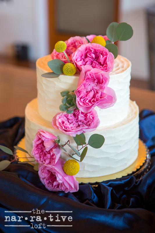 A cake masterpiece by  Jeannine's !