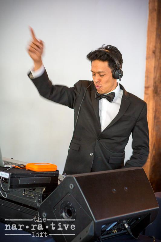 DJ  Gavin Roy  rocking out!