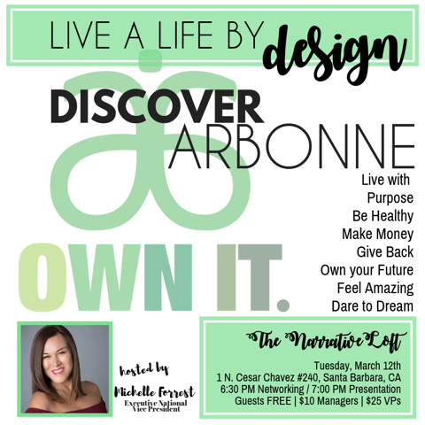 thenarrativeloft-arbonne monthly