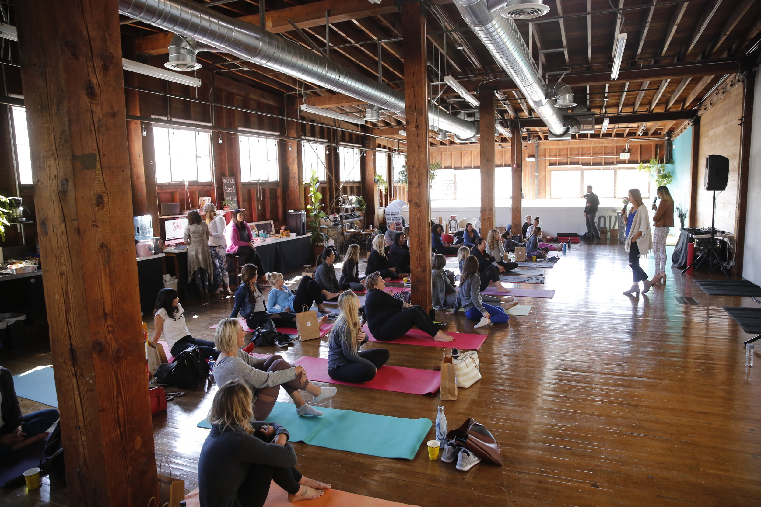 The Soul Success Summit at The Narrative Loft in Santa Barbara, California