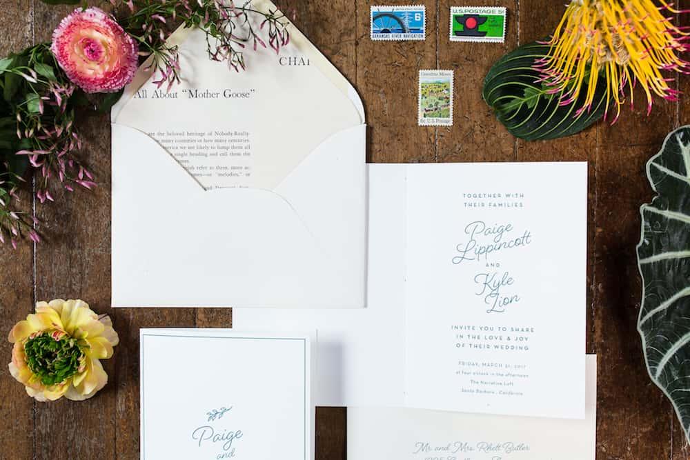 Eccentric eco friendly styled wedding