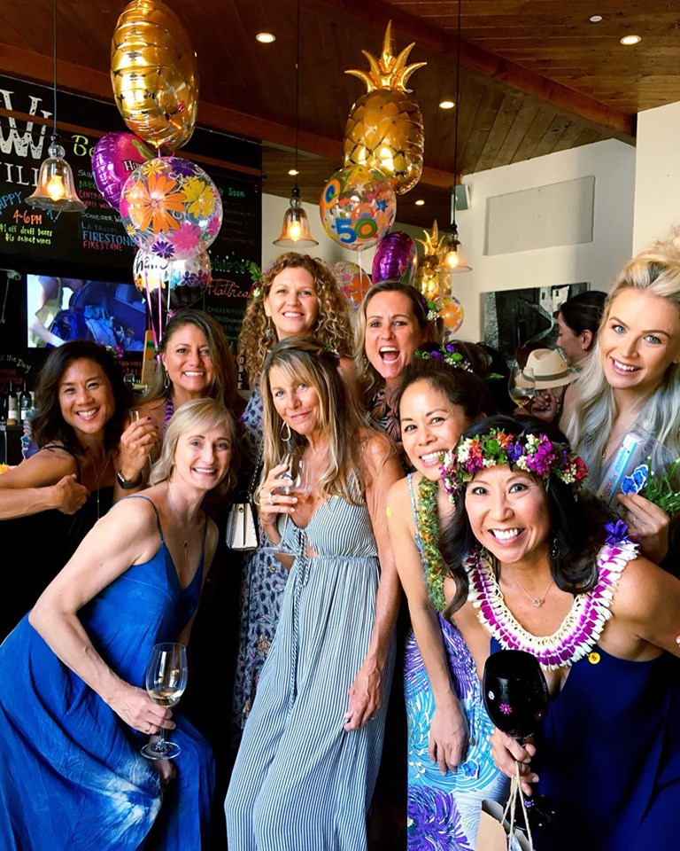 Michelle Lee of The Narrative Loft birthday celebration 2.jpg
