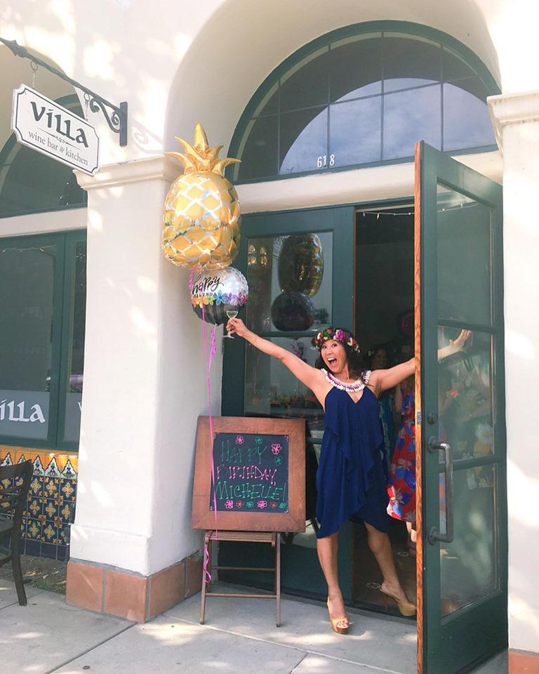 Michelle Lee of The Narrative Loft birthday celebration at Villa Wine Bar.jpg