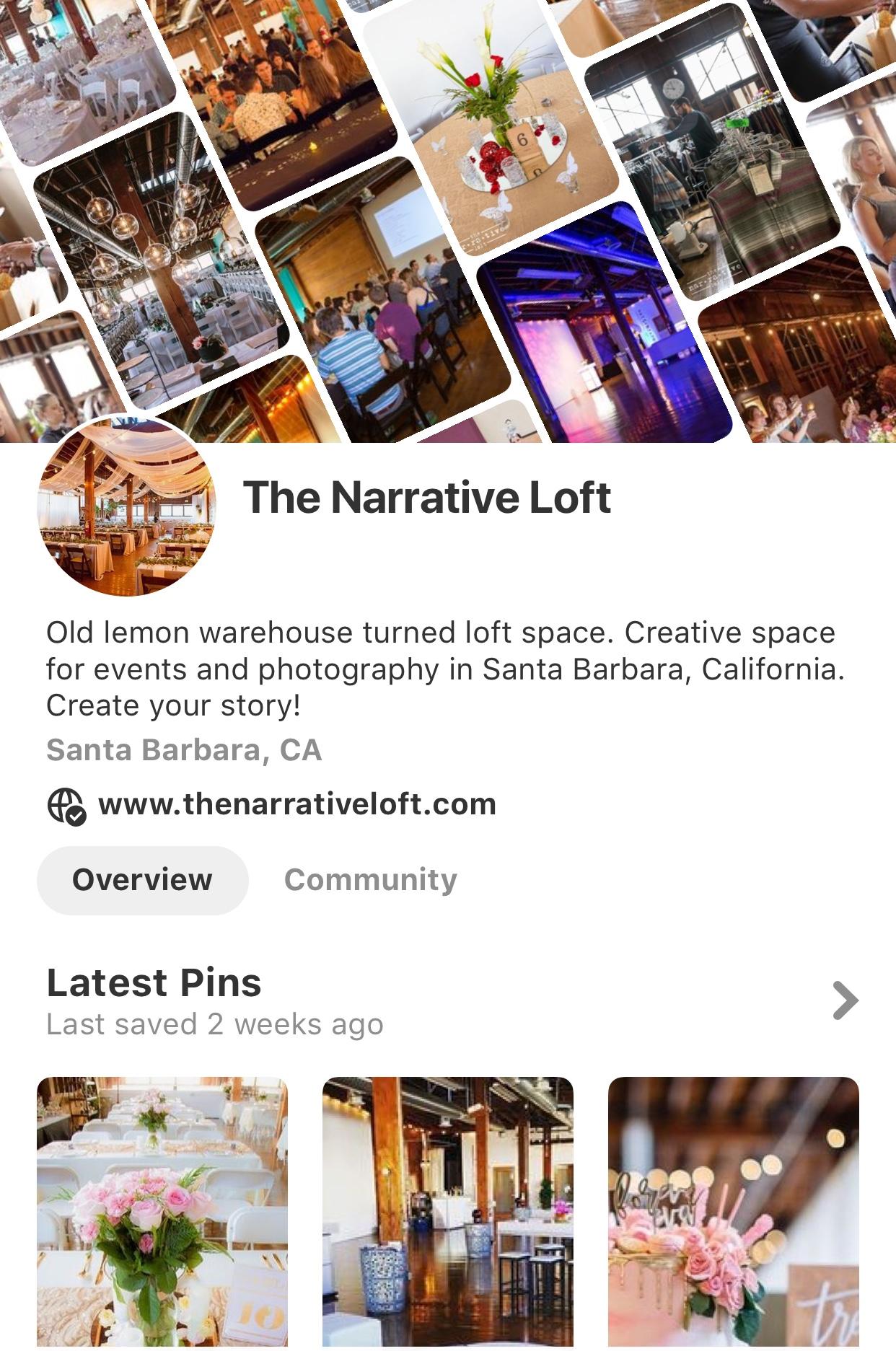 The Narrative Loft Pinterest