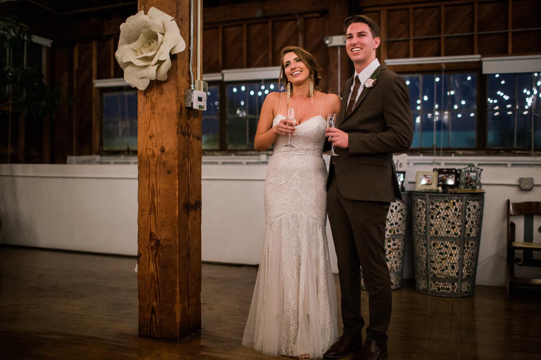 The Narrative Loft wedding couple
