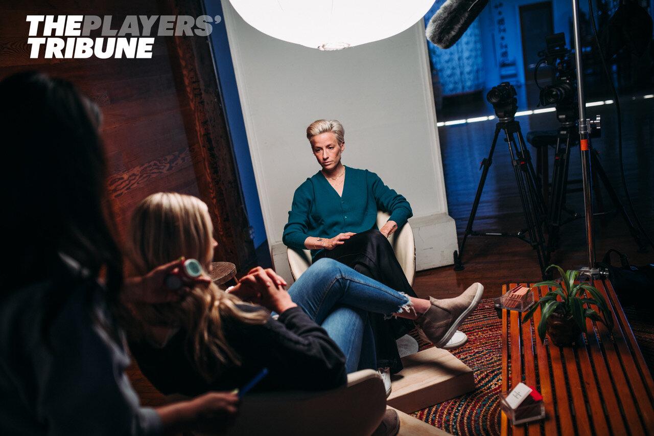 Megan Rapinoe interview at The Narrative Loft