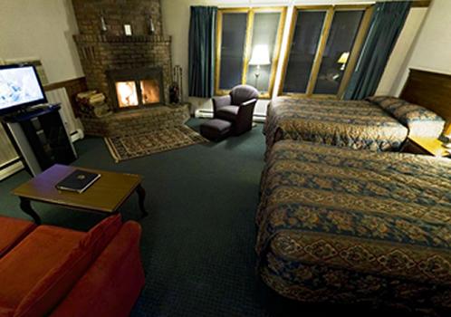 Deluxe Fireplace Efficiency  (2 queen beds)