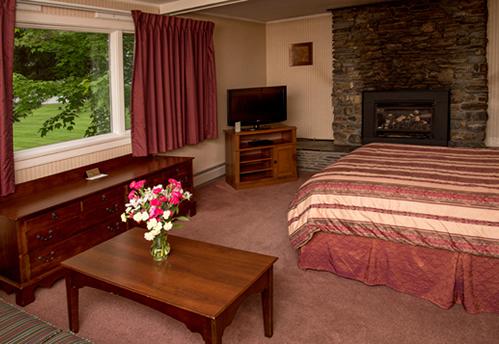 Superior Fireplace Efficiency  (queen bed)