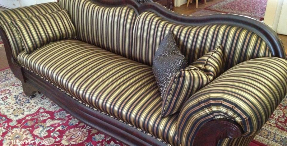 Empire Sofa Refinished