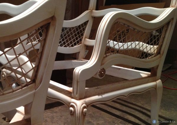Stripped Chair Frames