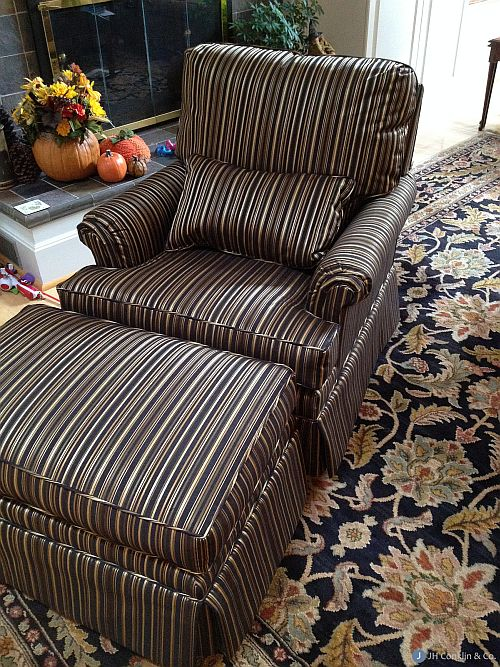 Haddonfield upholstery after