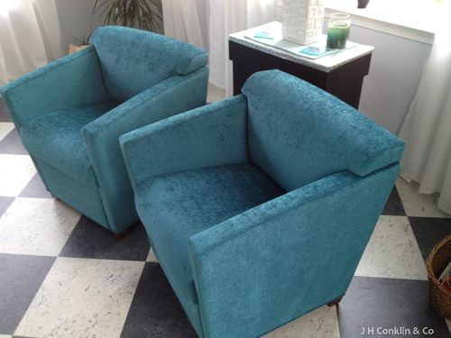Guest chair upholstery